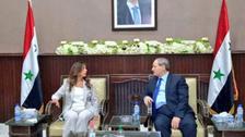 لبنانی اور شامی عہدیداروں کی ملاقات میں لبنانی پرچم غائب ہونے پرتنازعہ