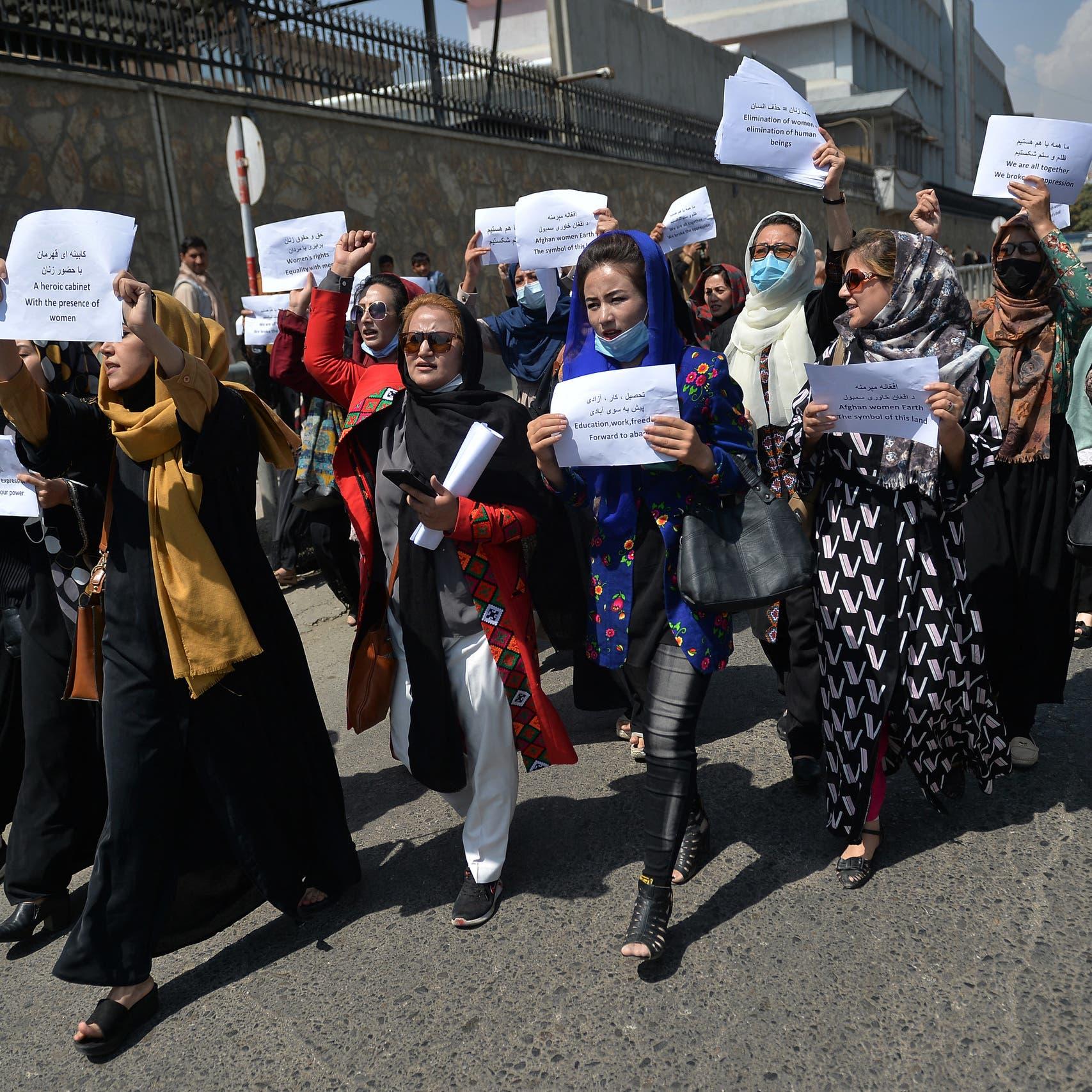 Senior Taliban member says women should not work alongside men