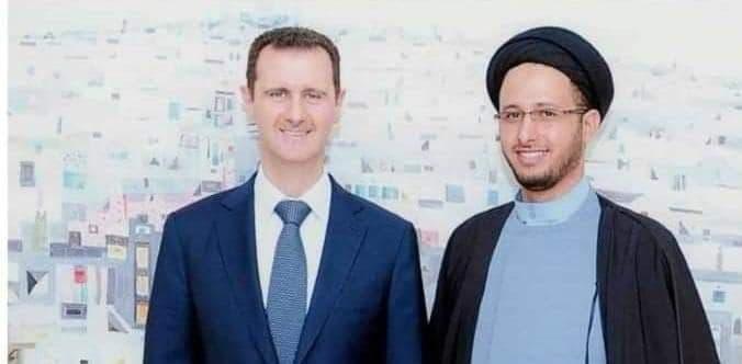 العماد با بشار الأسد