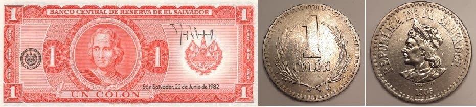 الكولون كان العملة الرسمية من 1892 الى أن حل الدولار في 2001 مكانه، ثم البيتكوين بدءا من 7 سبتمبر الجاري