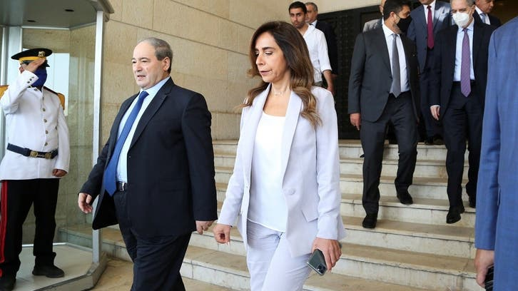 High-ranking Lebanon officials in Syria for talks on much-needed energy imports