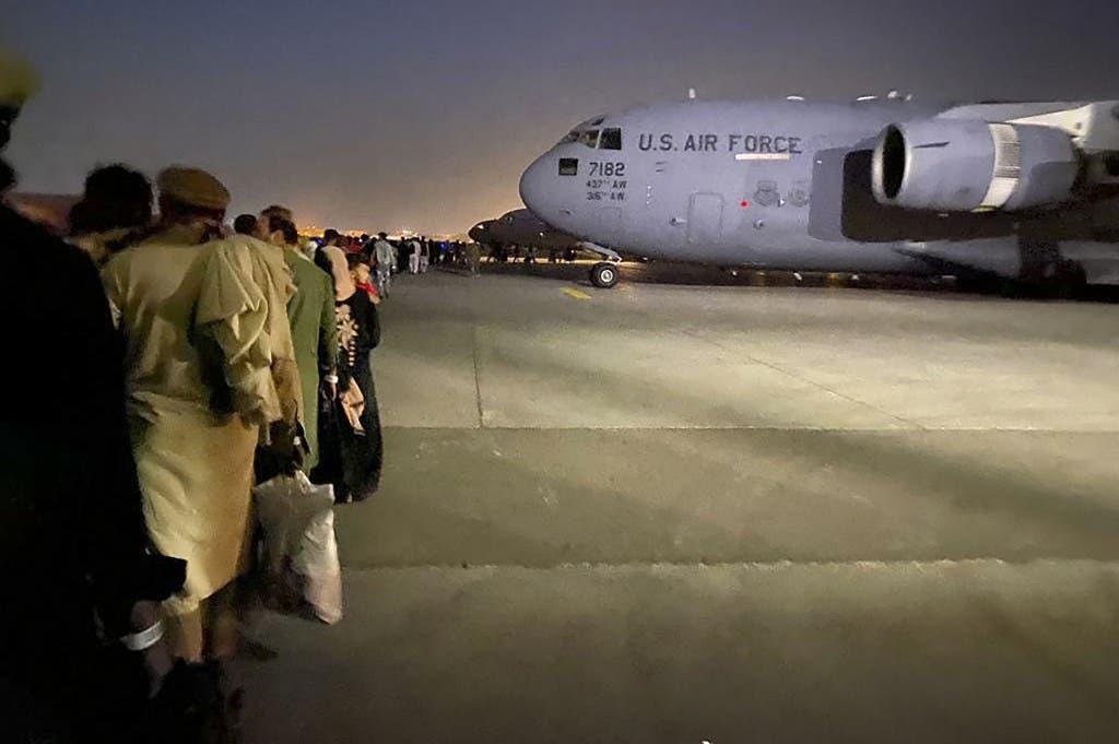 من عمليات الإجلاء التي قادتها أميركا في كابل في أغسطس الماضي