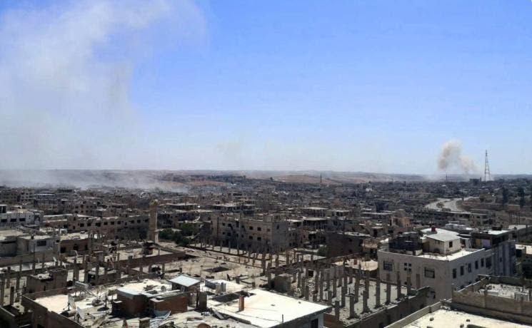 آتش جنگ در درعا