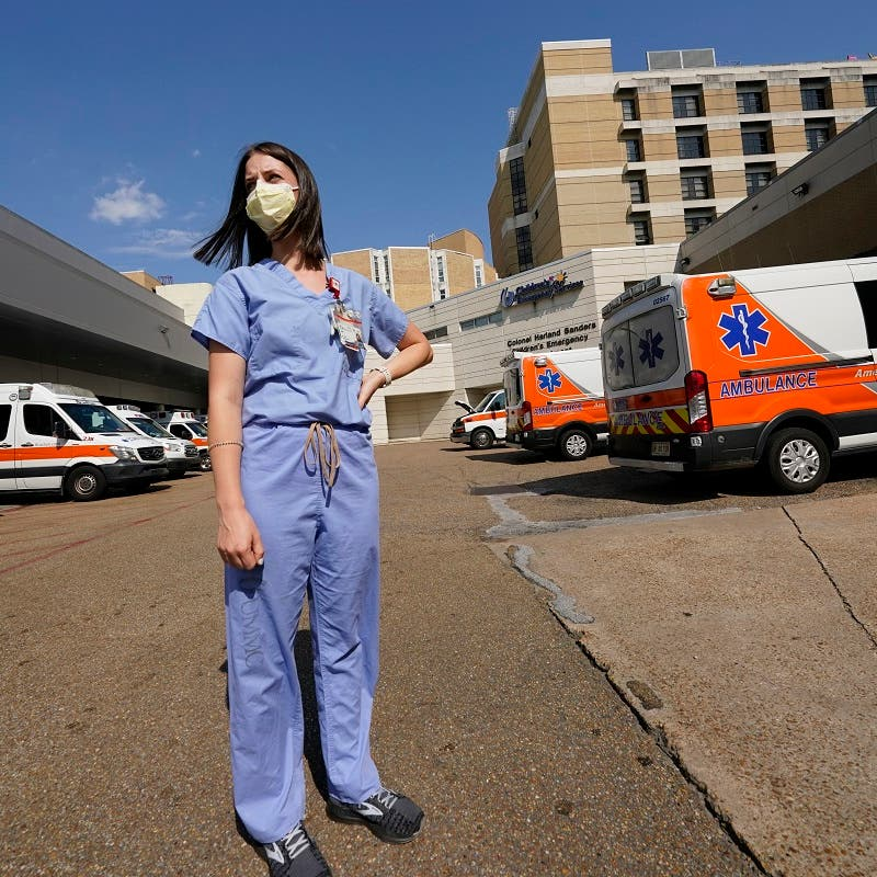 Hospitals in crisis in Mississippi, the least US vaccinated state