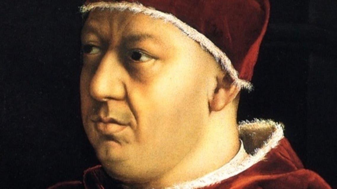لوحة تجسد البابا ليو العاشر