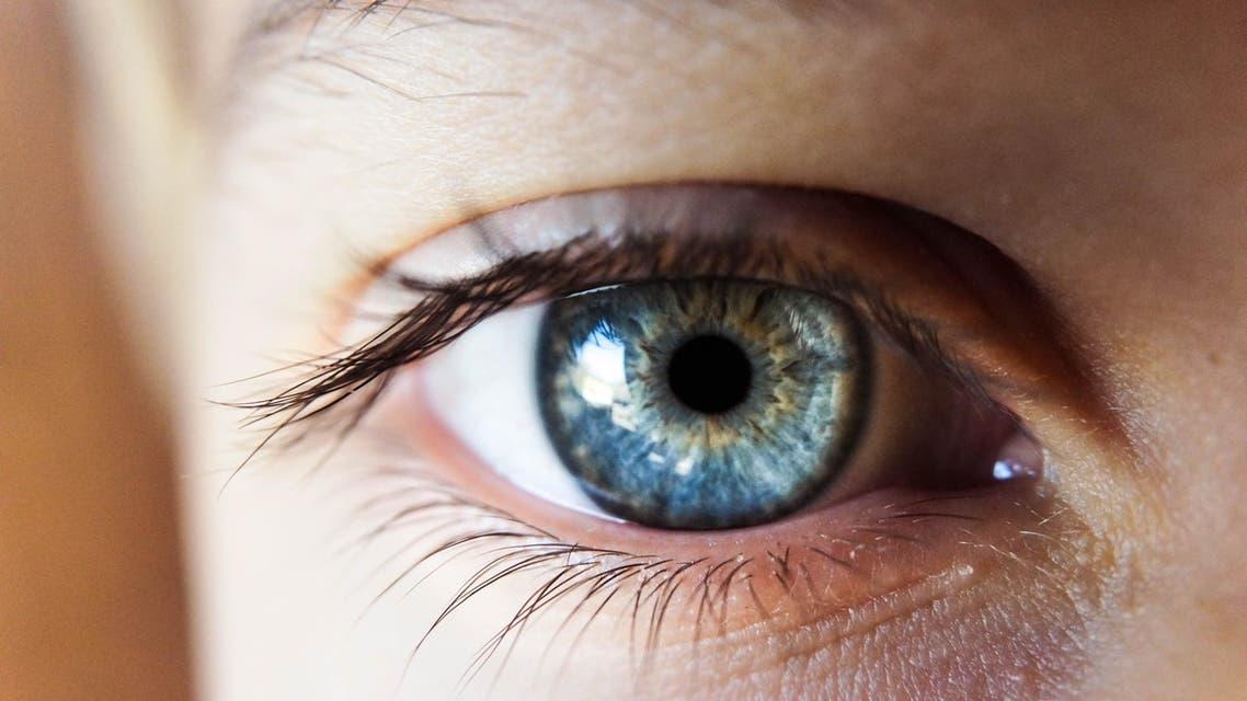 A close-up of a blue eye. (Unsplash, Kalea Jerielle)