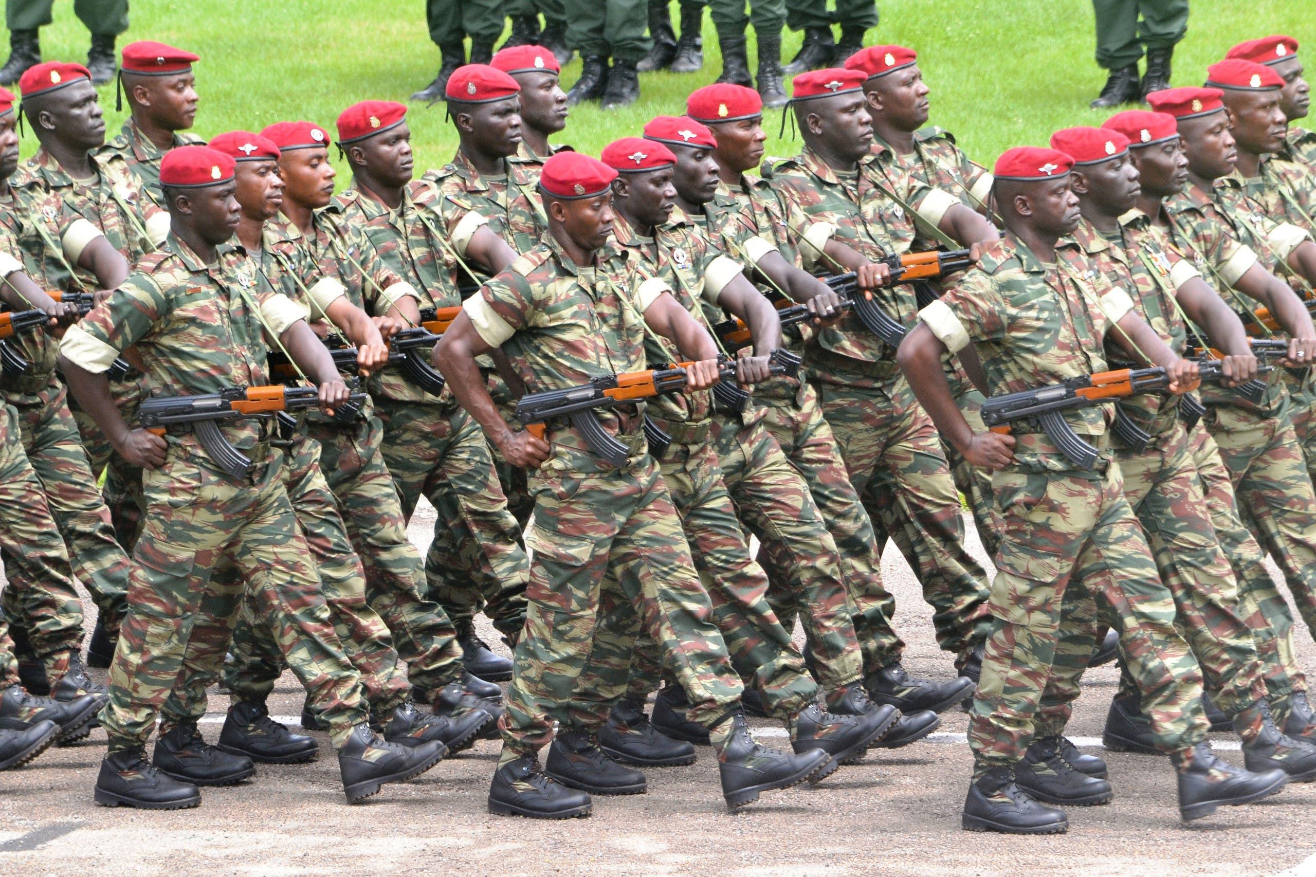 جنود من الجيش الغيني (أرشيفية)