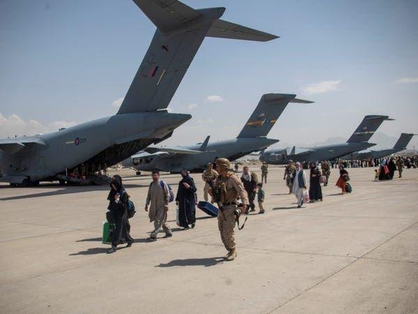 قوات بريطانية في مطار كابل