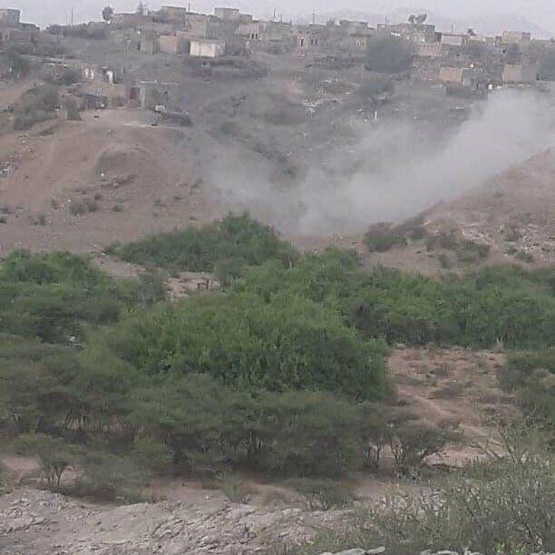 """مأرب.. تهجير 261 أسرة جراء قصف الحوثي على """"رحبة"""""""