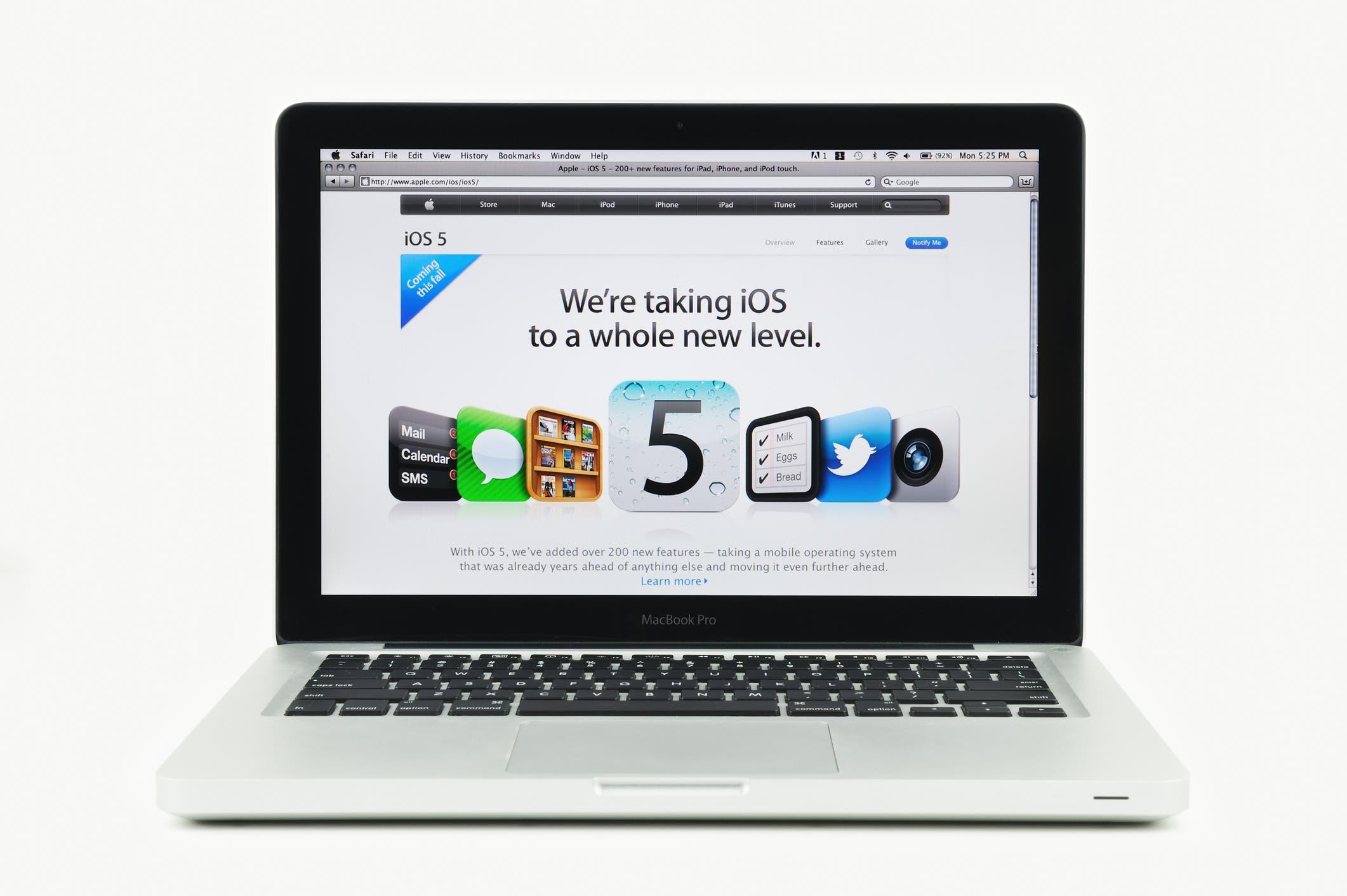 Apple Mac device