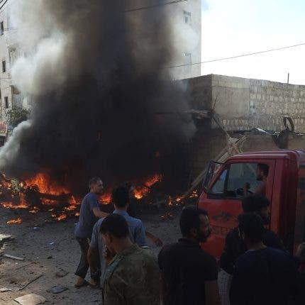قتلى وجرحى جراء انفجار سيارة في عفرين بريف حلب