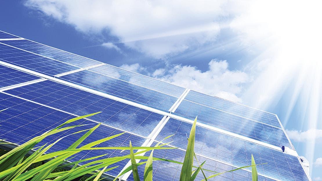 مزارع بالطاقة الشمسية