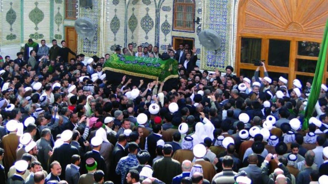 مراسم تشييع المرجع الديني محمد سعيد الحكيم