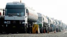 قاچاق 39 تانکر سوخت از گذرگاههای تحت کنترل شبهنظامیان عراقی به سوریه