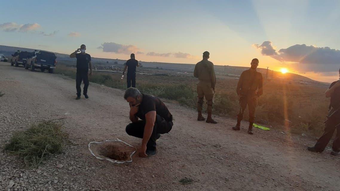 إسرائيل فلسطين 6 سبتمبر 2021 تمكّن ستة أسرى فلسطينيين من الهرب من سجن الجلبوع، المحاذي لمدينة بيسان، فجر اليوم الاثنين عن طريق نفق قاموا بحفره