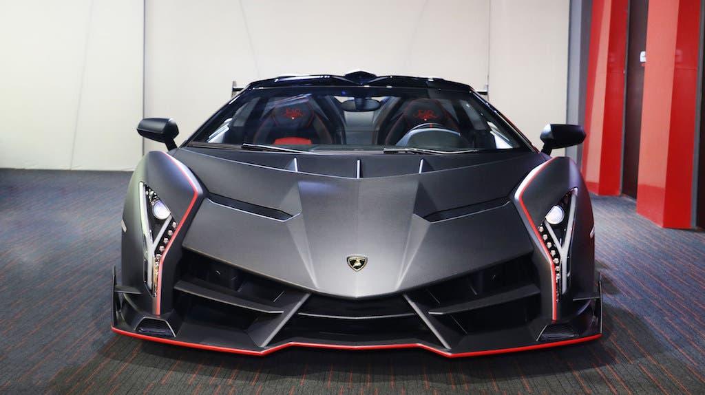 Lamborghini-Veneno-Roadster. (Image: Lamborghini)
