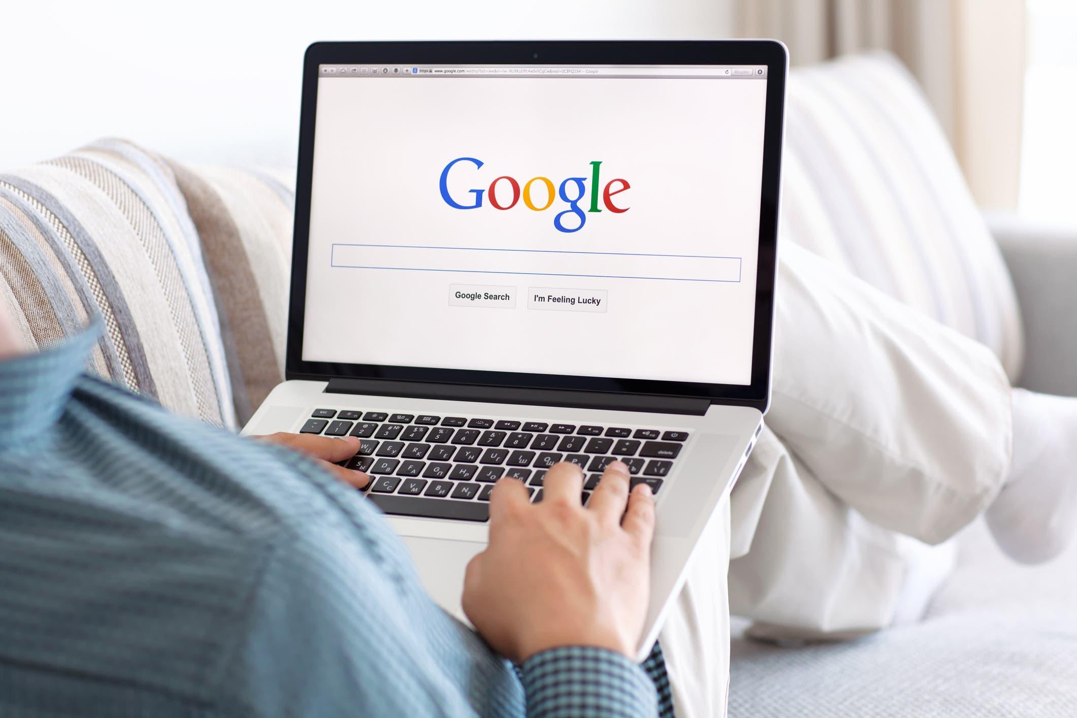 "محرك بحث ""غوغل"""