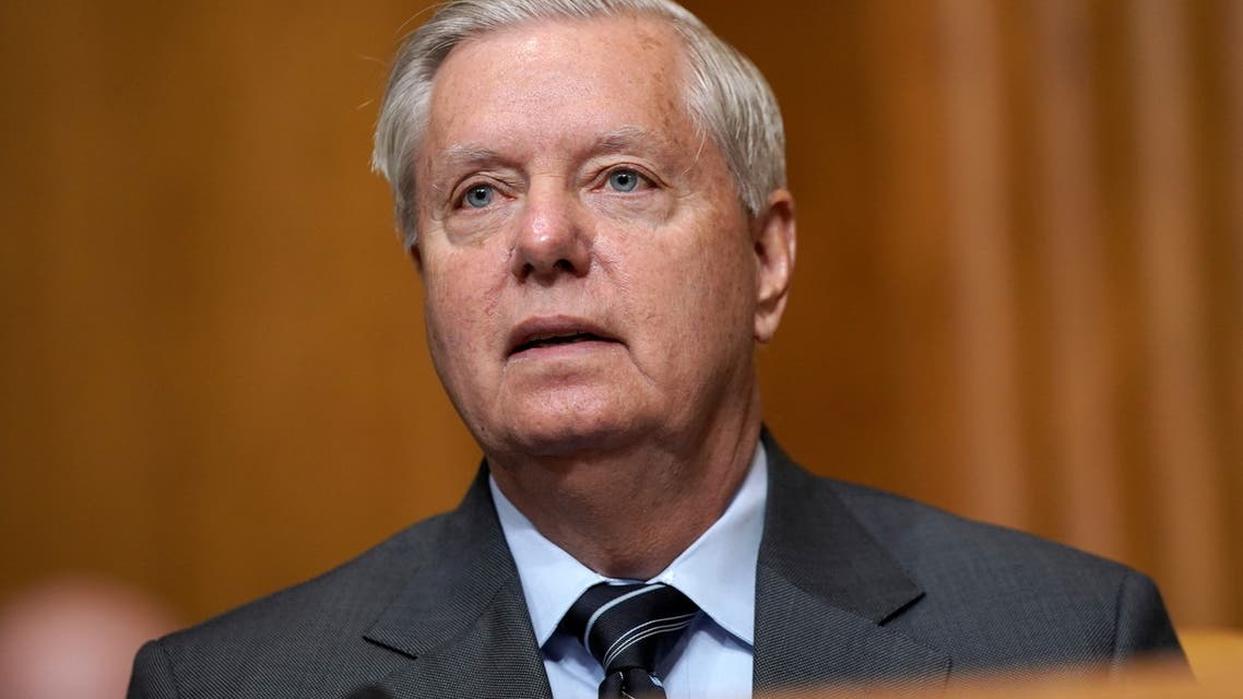US Senator Lindsey Graham (R-SC) attends a Senate Budget Committee hearing to discuss President Biden's budget request for FY 2022, at the US Capitol in Washington, DC, US, June 8, 2021. (File photo: Reuters)