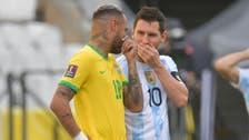 The moment health officials halt Brazil-Argentina World Cup qualifier