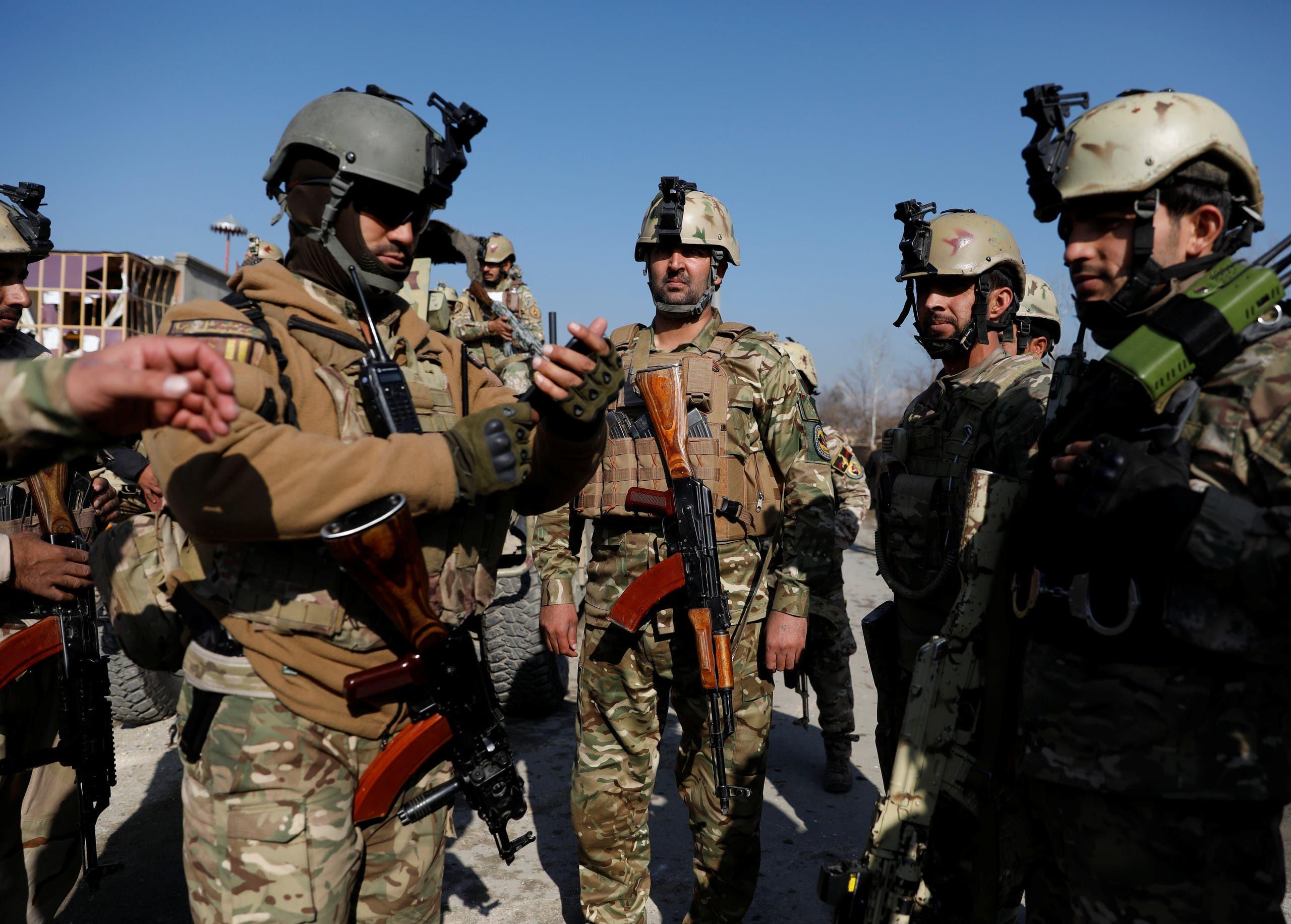 قوات أفغانية سابقة (أرشيفية)