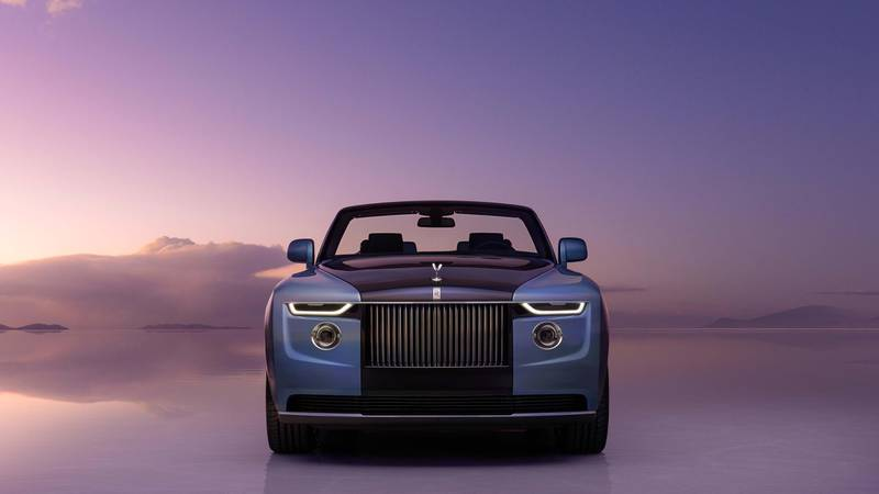 With 1,800 individual components the Rolls-Royce Blue Tail with takes top spot as the most expensive car costing a staggering $28 million. (Image: Rolls-Royce)