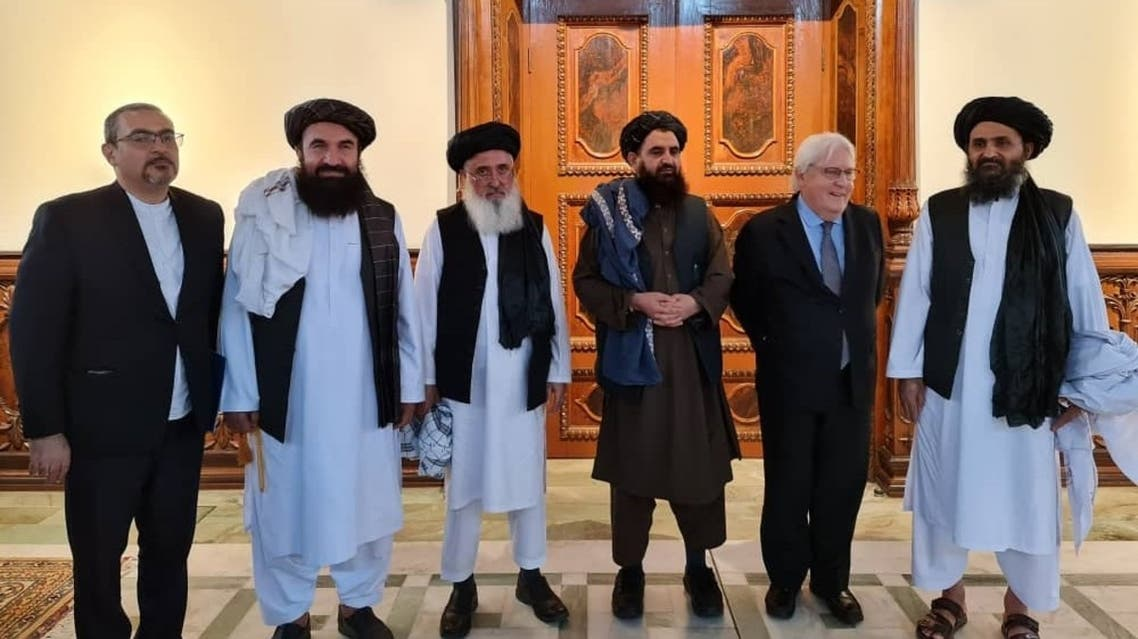 UN Under-Secretary-General for Humanitarian Affairs and Emergency Relief Coordinator, Martin Griffiths, met with Taliban leadership in Afghanistan. (Twitter/pajhwok)