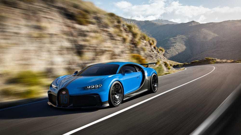 Bugatti Chiron Pur Sport. (Image: Bugatti)