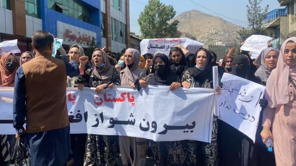 تظاهرات مردم افغانستان علیه طالبان