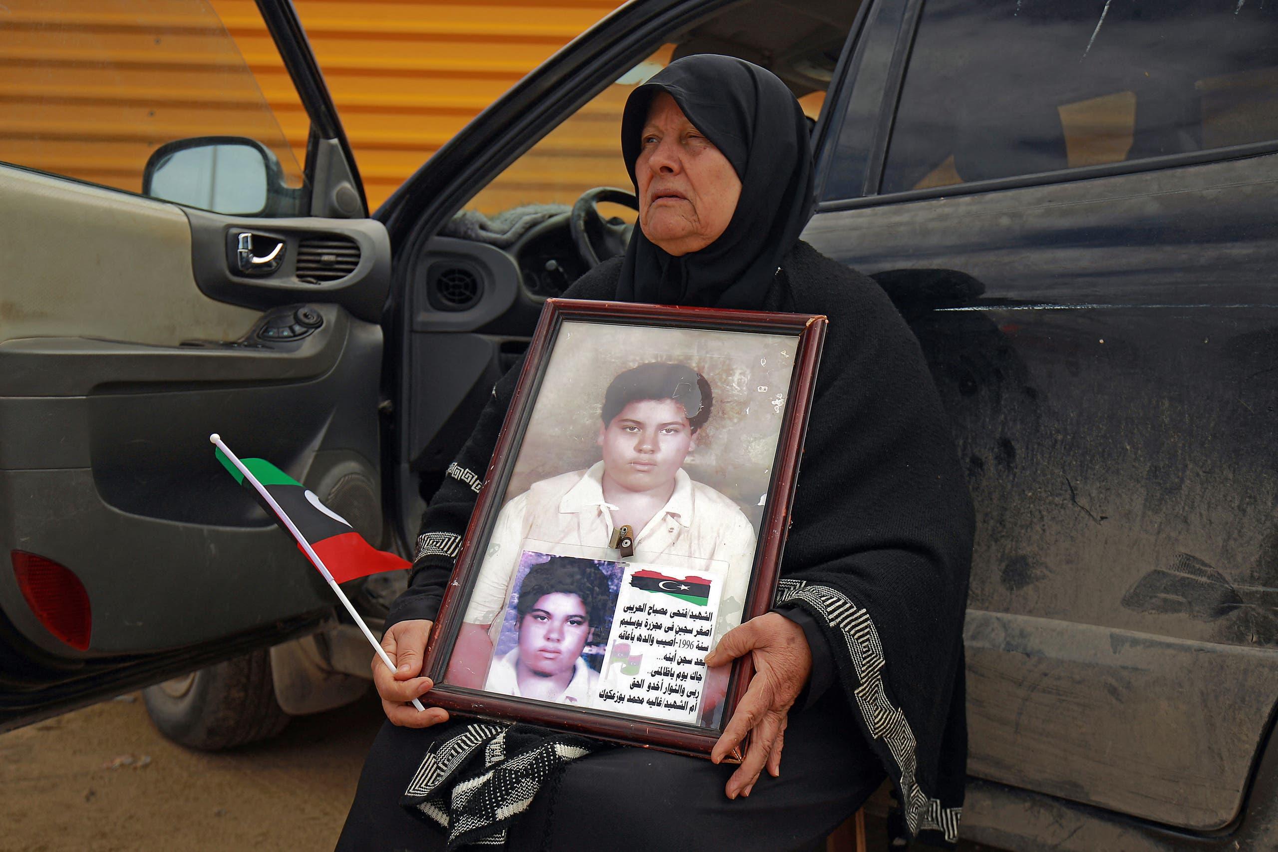 ذكرى الانتفاضة الليبية (فرانس برس)