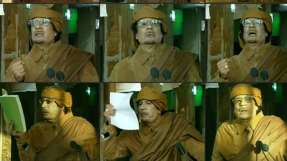 معمر القذافي (أرشيفية- فرانس برس)