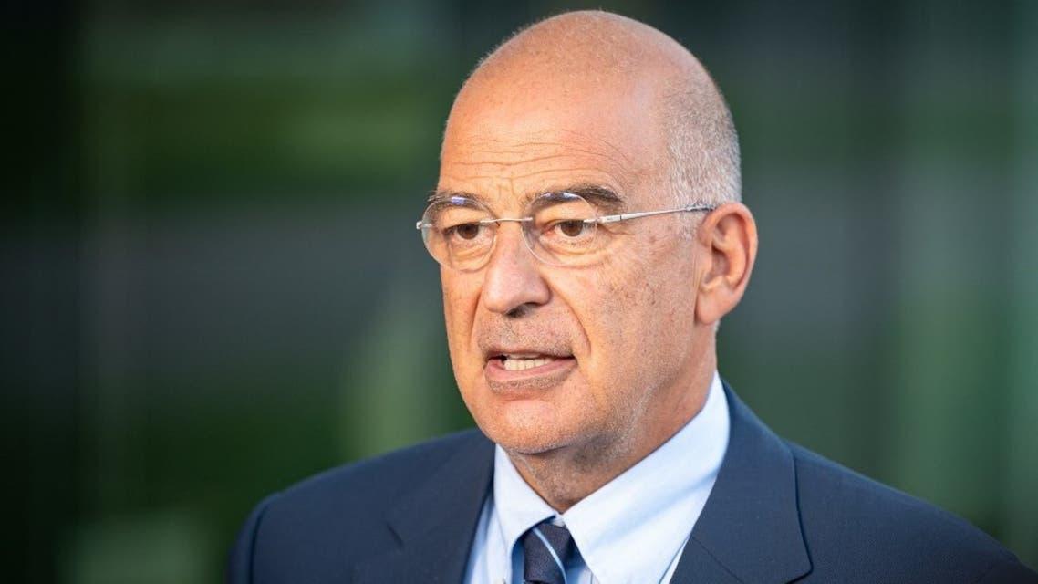 وزير خارجية اليونان (فرانس برس)