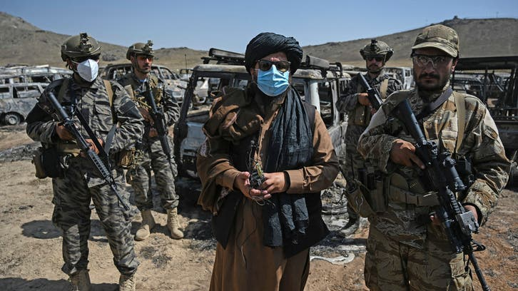 The Taliban and Arabs