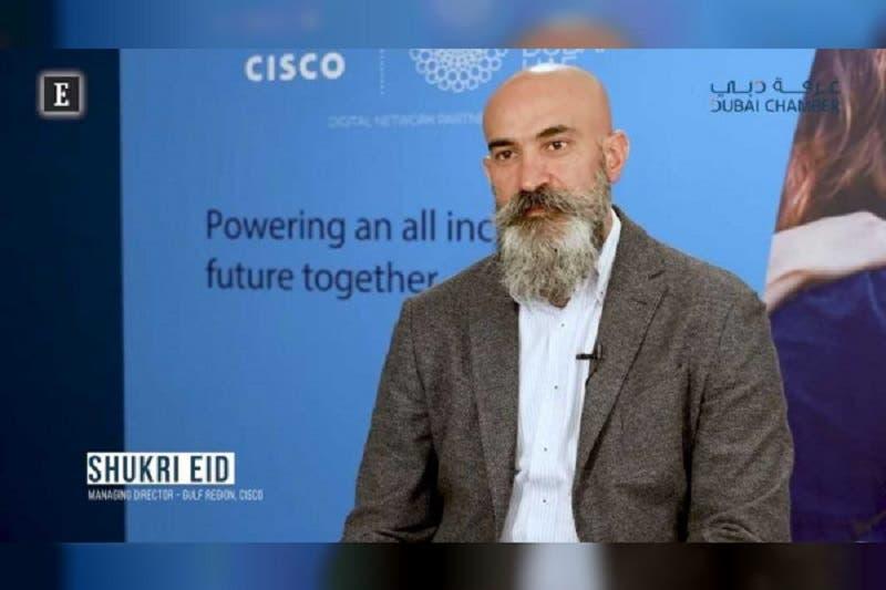 Shukri Eid, Managing Director, Gulf Region, Cisco. (WAM)