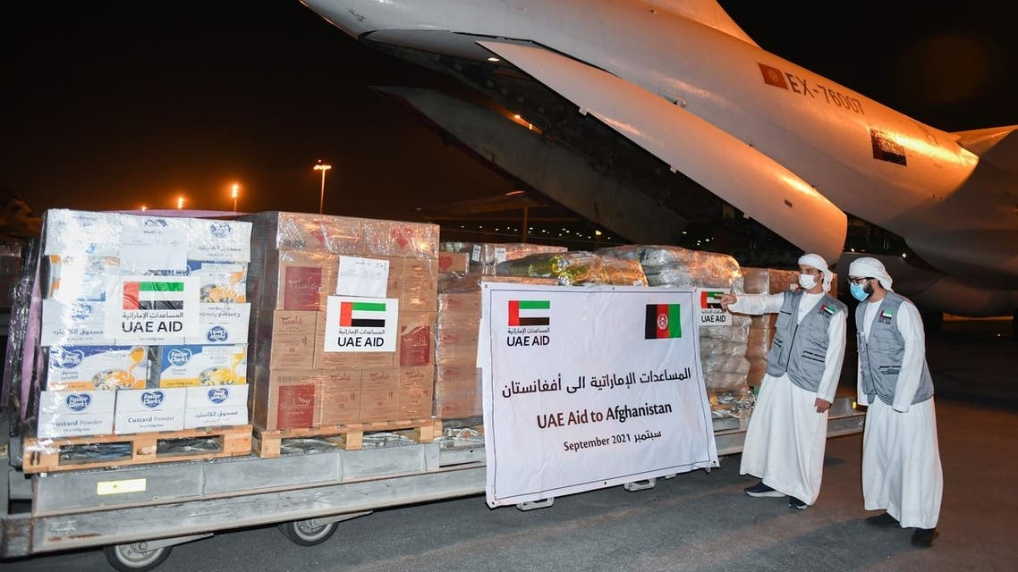 UAE aid to Afghanistan. (WAM)