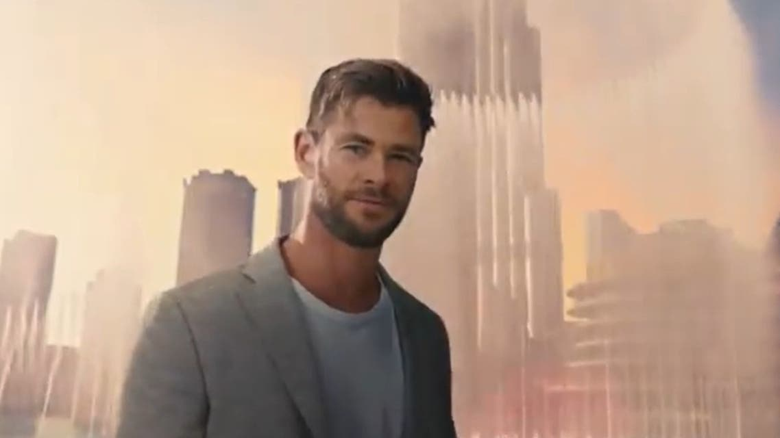 Chris Hemsworth featured in Expo 2020 Dubai ad by Emirates Airline. (Screengrab)