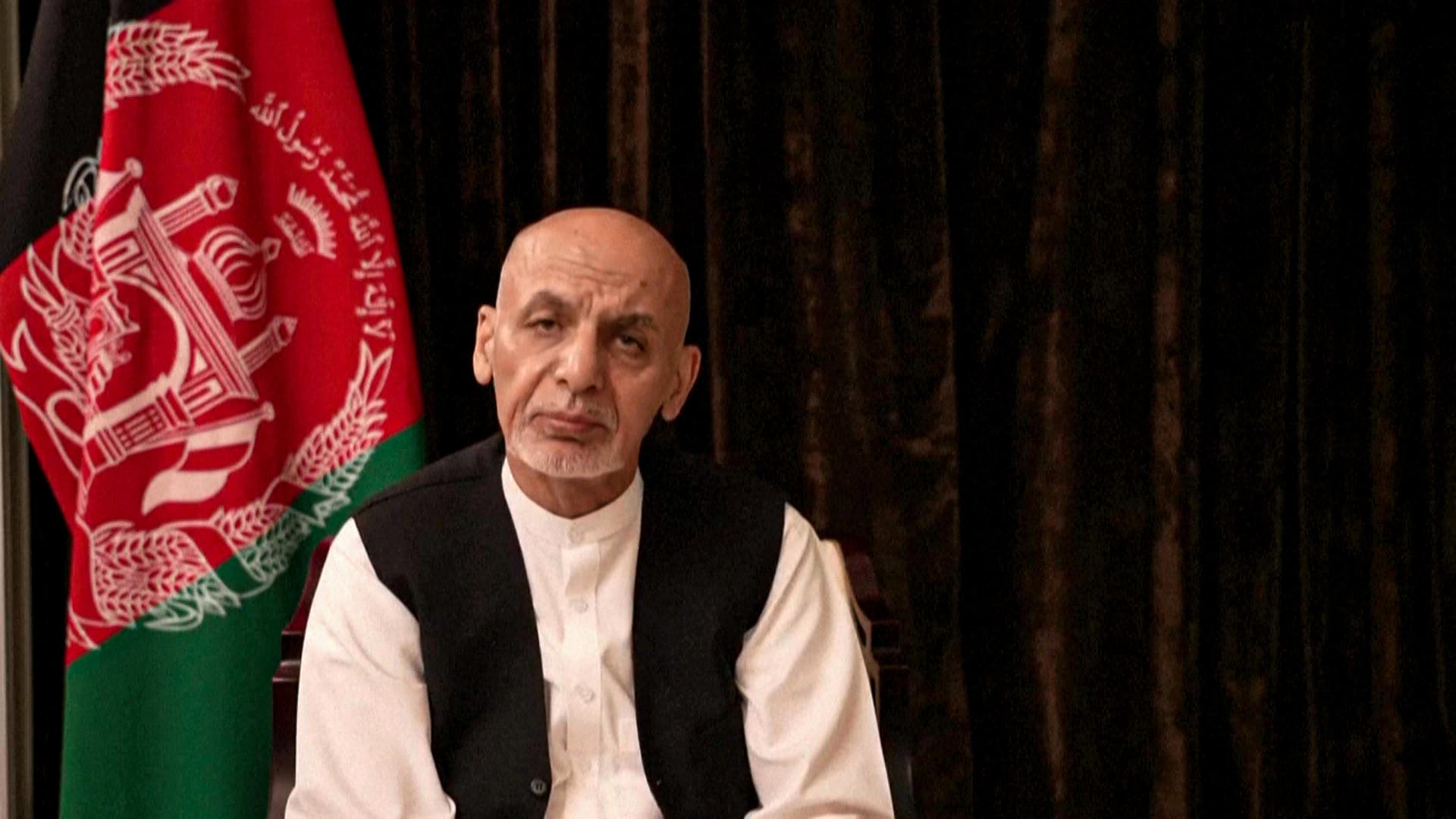 """After their failure to stop the advance of the """"Taliban"""", what is the fate of the Afghan leaders?"""