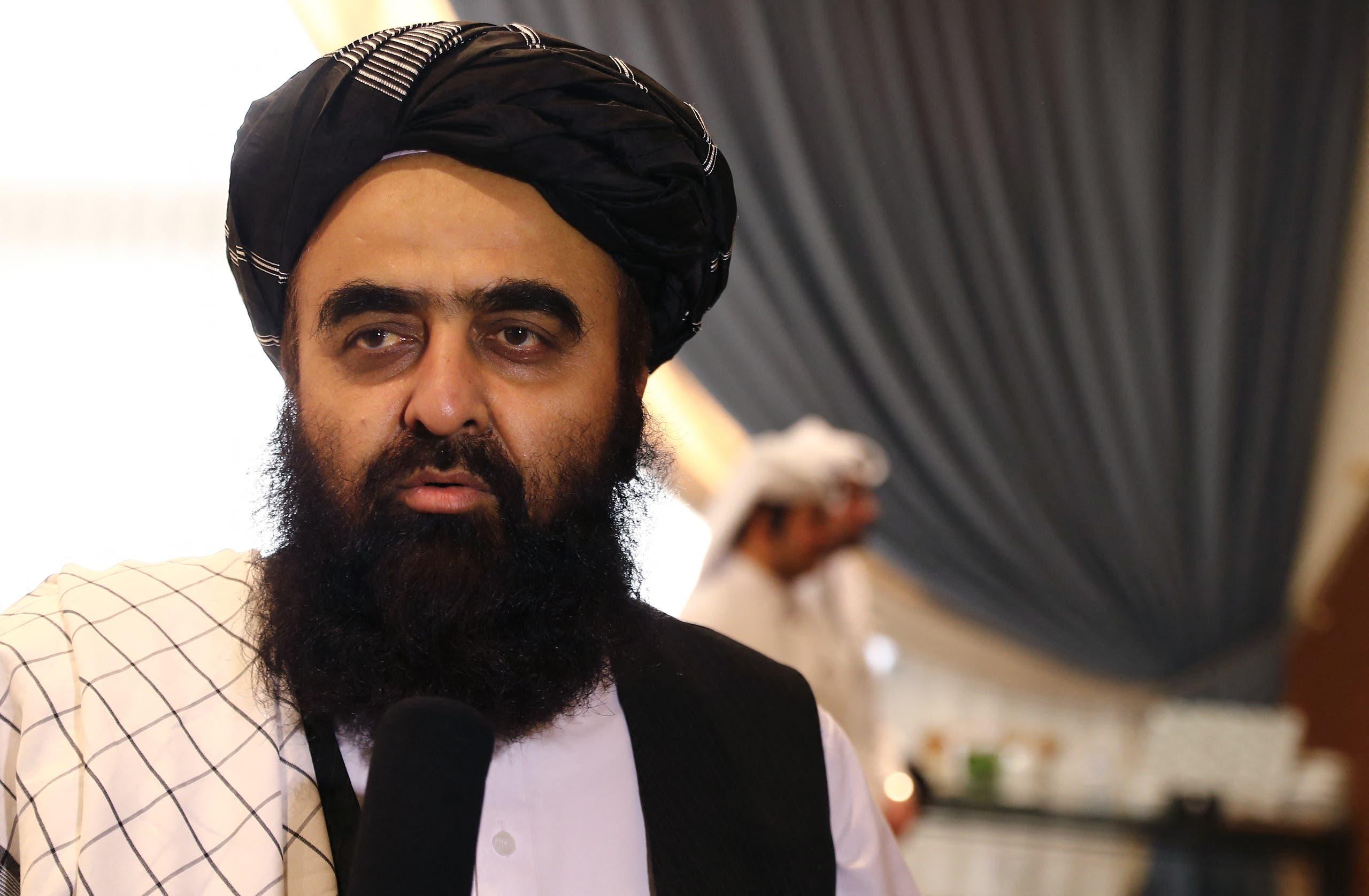 Taliban foreign minister Amir Khan Muttaqi. (AFP)