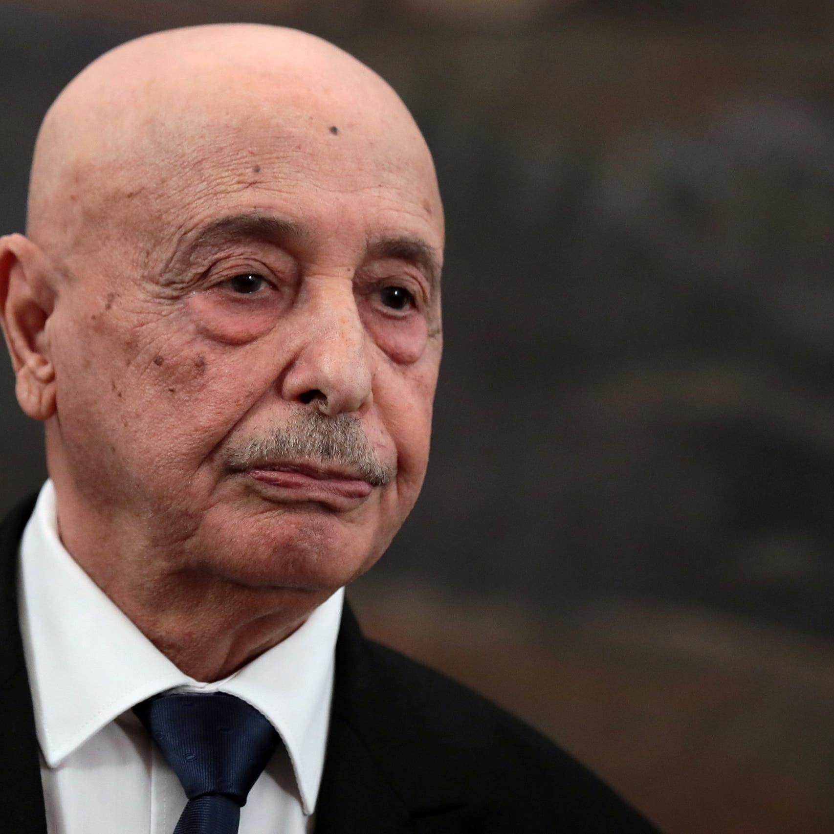 عقيلة صالح يؤكد: الانتخابات الرئاسية والبرلمانية في ليبيا بموعدها