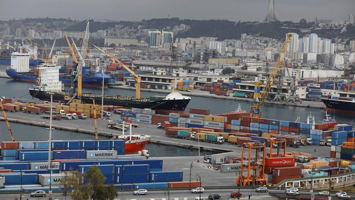 ميناء في الجزائر