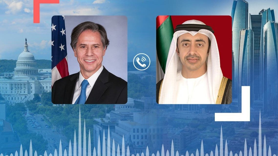 US Secretary of State Antony Blinken has commended the support by the United Arab Emirates for the evacuation operations in Afghanistan. (Supplied: WAM)