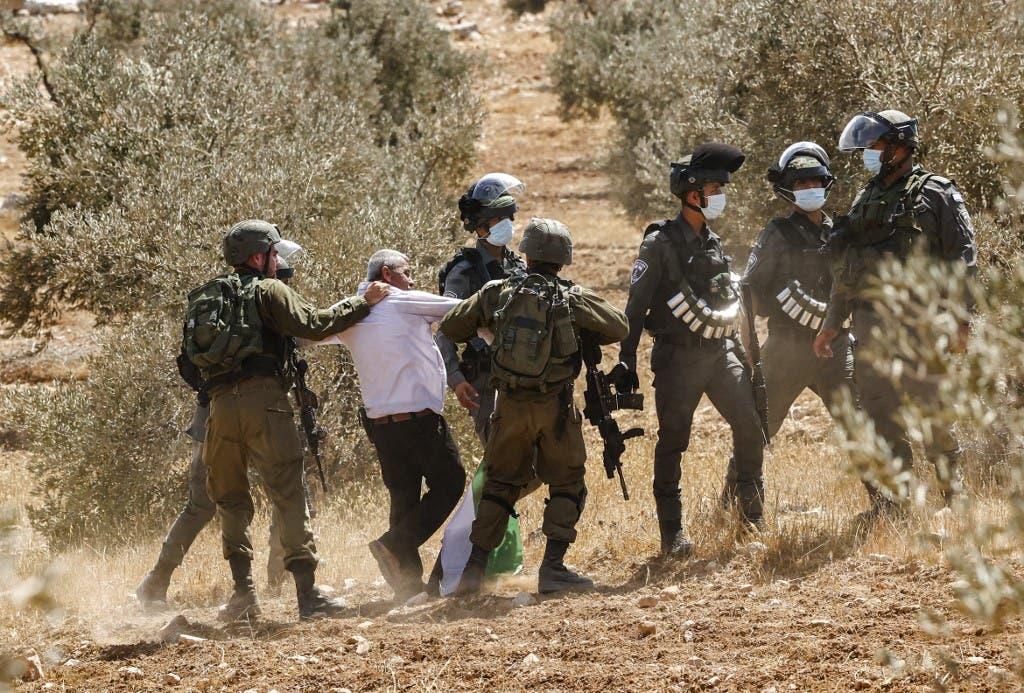 A raid campaign in Jenin (AFP)
