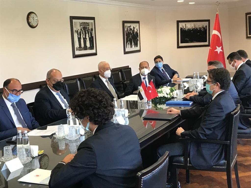 محادثات مصر وتركيا