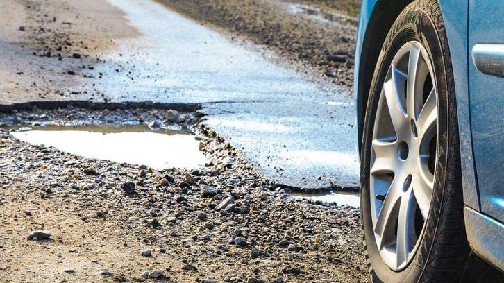 هوش مصنوعی از افتادن خودرو در چاله جلوگیری میکند
