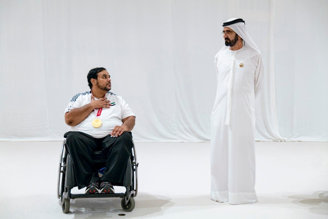 Three Emiratis scooped gold, silver, and bronze at the 16th Summer Paralympic Games, which concluded earlier this week in Tokyo, Japan, and saw the participation of 4,400 athletes representing 163 countries. (Supplied: Wam)