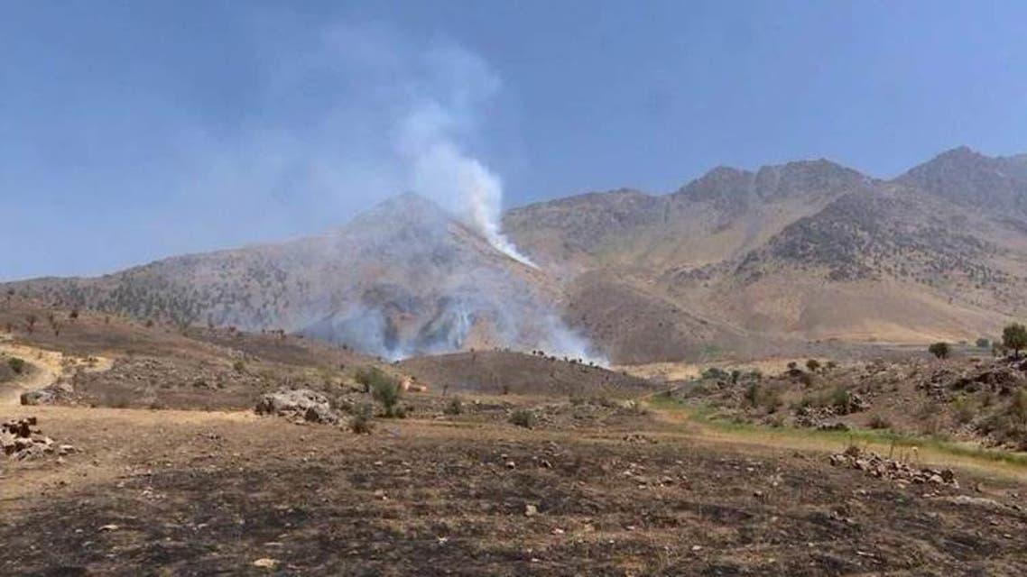 قصف في كردستان