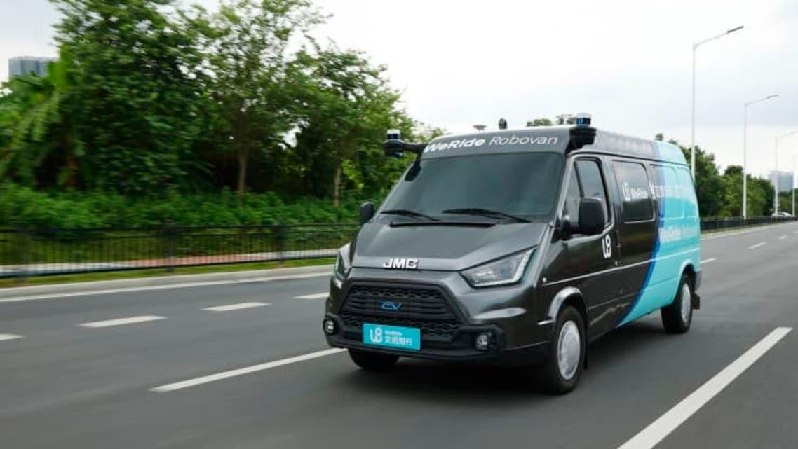 شاحنة ذاتية القيادة