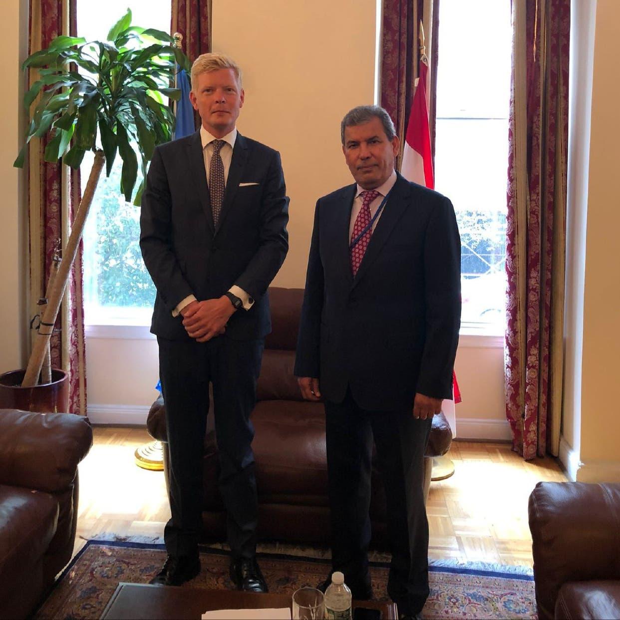 غروندبرغ يتعهد بالشفافية للدفع بالعملية السياسية في اليمن