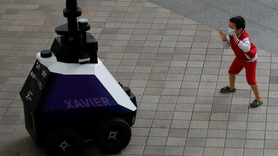 الروبوت الشرطي Xavier