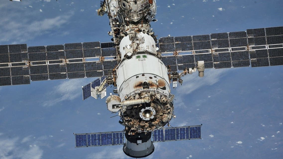 The International Space Station (ISS) photographed from a Soyuz spacecraft after undocking. (File photo: Reuters)