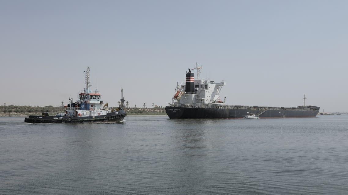 جنوح سفينة قناة السويس